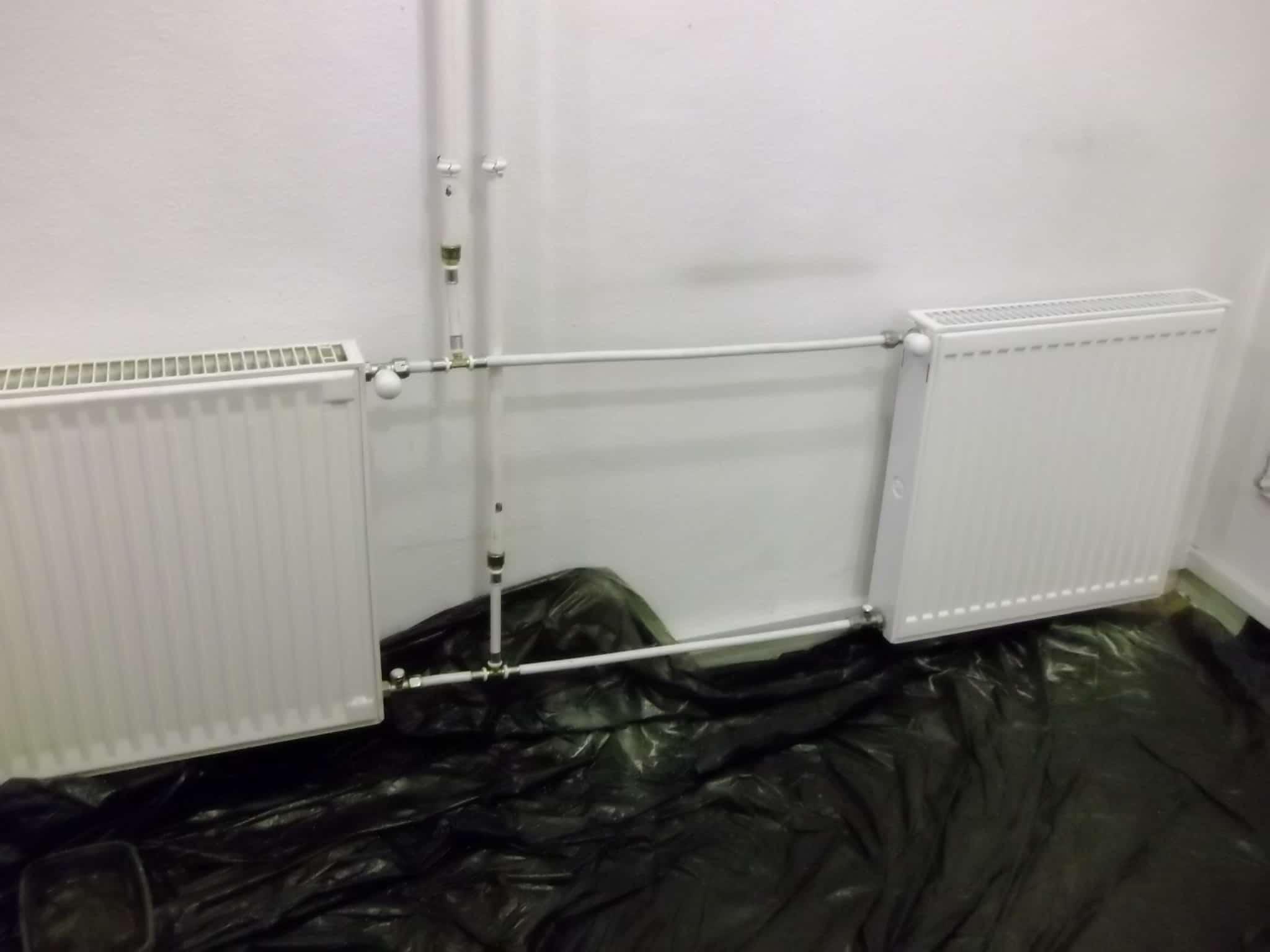 Aluminium radiátor kilyukad