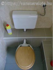 WC tartály szerelés.