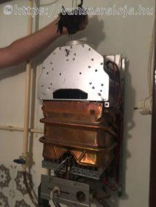 Gázvízmelegítő karbantartása, javítása